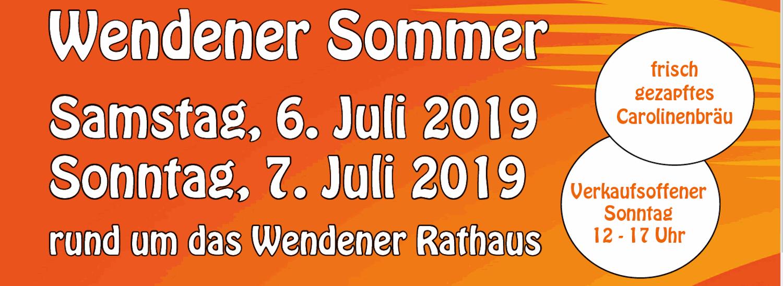 Wendener Sommer 2019